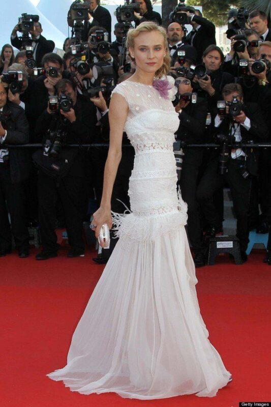Member of the jury, German actress Diane