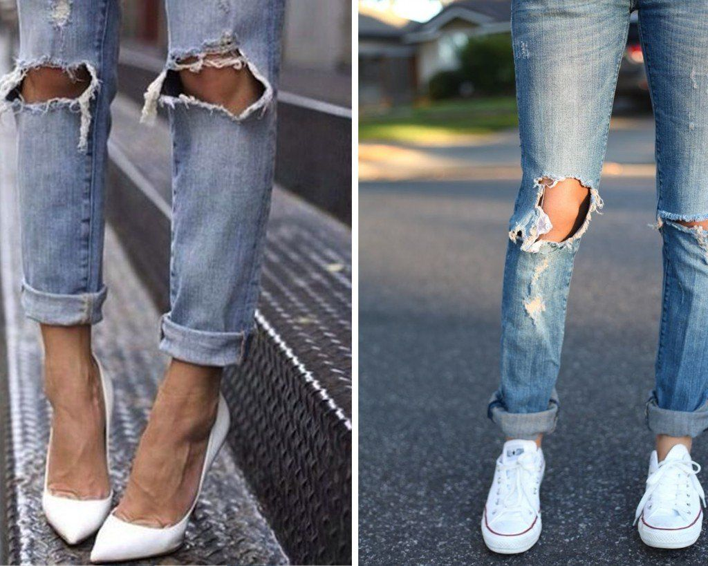 blue-diy-ripped-jeans