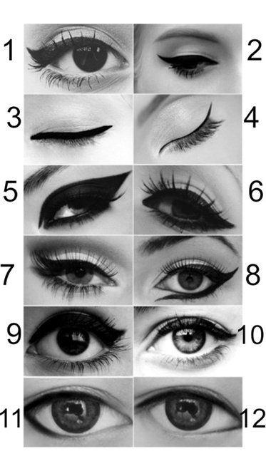 Conturul ochilor
