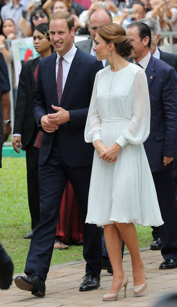 The Duke And Duchess Of Cambridge Diamond Jubilee Tour - Day 4
