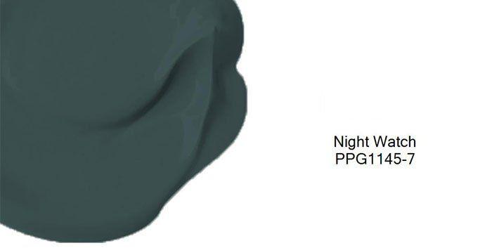Culorile anului 2019 - Verde Night Watch